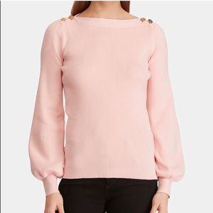 Ralph Lauren Women's Annabel Pink Sweater Top
